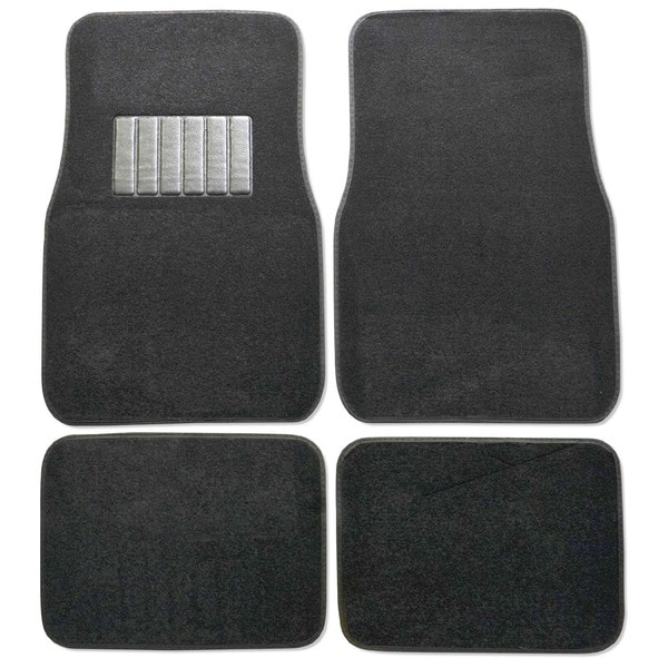 Premium Carpet Black Mats (Set of 4)