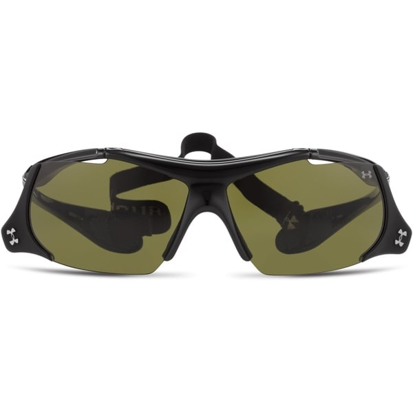 Under Armour Thief Flip-Up Sunglasses Shiny Black/ Game Day
