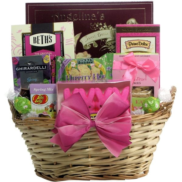 Delightful Easter Sweets Chocolate and Sweets Easter Gift Basket