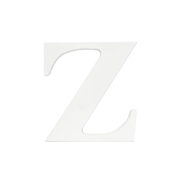 Little Haven White Hanging Wall Letter Z