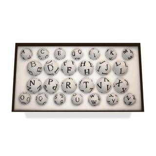 Hip Vintage Alphabet Set Accent Piece