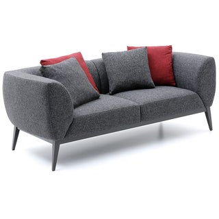 Bienal Morrison 2-seater Sofa with Metal Legs with Black Coating