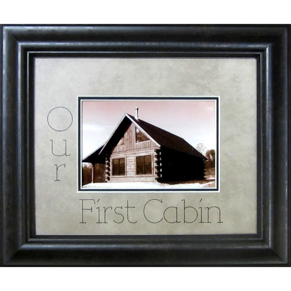 Our First Cabin Photo Frame