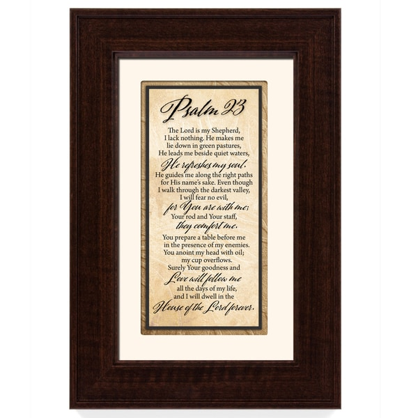 Psalm 23 Framed Art
