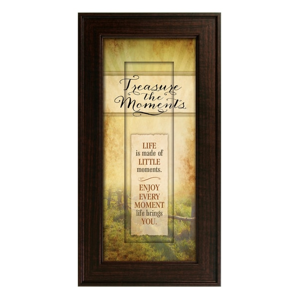 Treasure the Moments Framed Art