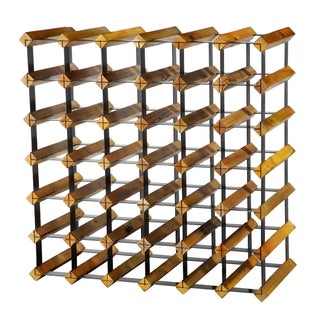 24.8X10.3X24.8 Wood/Metal Rack
