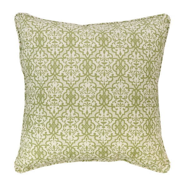 Althea Quatrefoil Throw Pillow