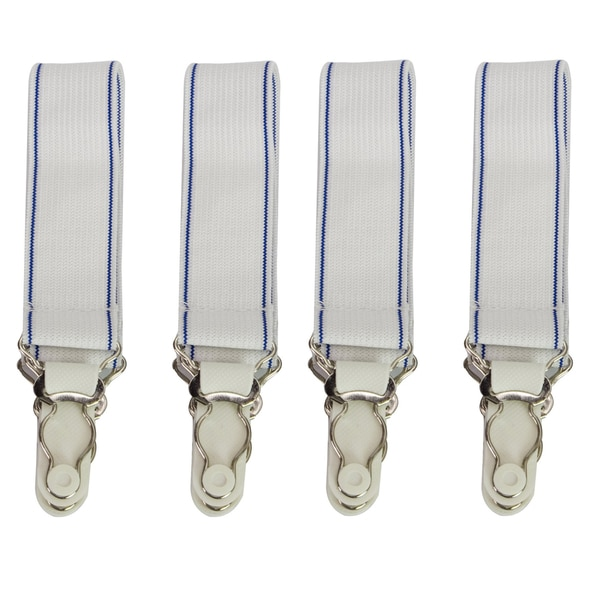 Elastic Sheet Straps (Set of 4)