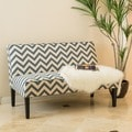Christopher Knight Home Dejon Chevron Fabric Loveseat