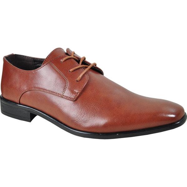 BRAVO Men Dress Shoe KING-1 Oxford - Wide Width Available