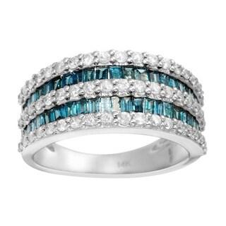 KREMENTZ 14k Gold 1 5/8ct TDW Diamond Ring (Size 7)