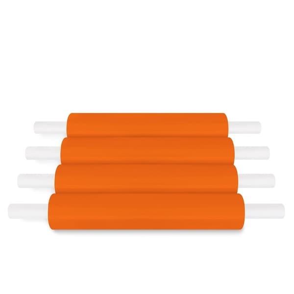 Orange Pallet Stretch Wrap Handwrap 20 In 1000 Ft 80 Ga 40 Rolls (10 Cases)