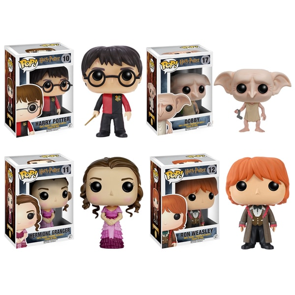 Funko Harry Potter POP! Movie Vinyl Collector 4-piece Set 17591610