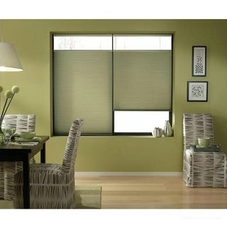 Cordless Top Down Bottom Up Cellular Shades in Bay Leaf (50 to 50.5 Inches Wide)