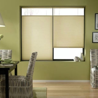Cordless Top Down Bottom Up Cellular Shades in Ivory Beige (50 to 50.5 Inches Wide)