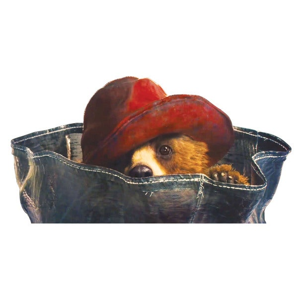 Marmont Hill 'You Can't See Me' Paddington Bear Painting Print on Canvas