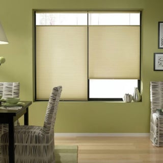 Cordless Top Down Bottom Up Cellular Shades in Ivory Beige (44 to 44.5 Inches Wide)