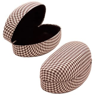 Houndstooth Hard Cured Case Eyewear Case