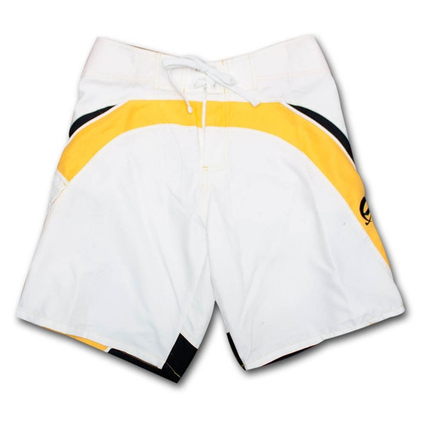 Corona Extra White Racer Men's Board Shorts