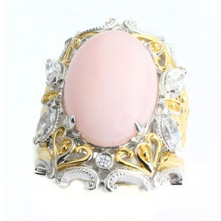 One-of-a-kind Michael Valitutti Kunzite RIng