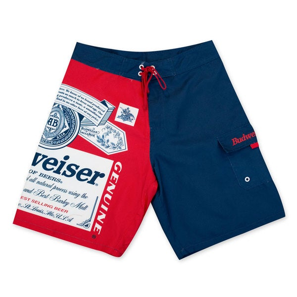 Budweiser Men's Label Board Shorts