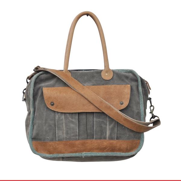 Piper Cotton Satchel Tote Bag