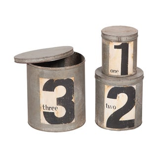 Guildmaster Round Metal Nesting Tins