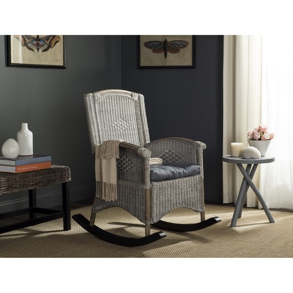 Safavieh Verona Antique Grey Rocking Chair