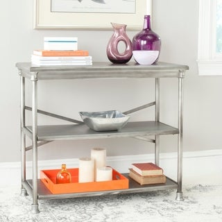Safavieh Jacinda Dark Silver Medium Bookcase