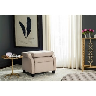 Safavieh Hamilton Beige Recliner Chair