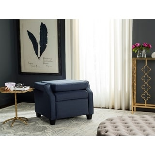 Safavieh Hamilton Navy Recliner Chair
