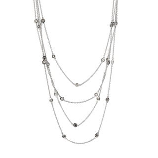 Collette Z Sterling Silver Four Strand Necklace