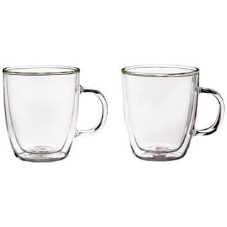 Bodum 10604-10US4 Bistro Double Wall Clear 10-ounce Glasses (Set of 2)