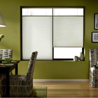 Cordless Top Down Bottom Up Cellular Shades In Cool White (51 to 51.5 Inches Wide)