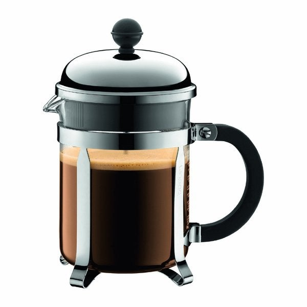 Bodum 1924-16US4 Chambord French Press Chrome 17-ounce Coffee Maker