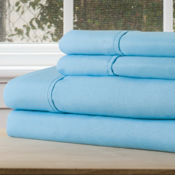 Windsor Home Series 1200 4 Piece Full Sheet Set