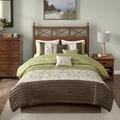 Madison Park Estella Green 7-piece Comforter Set