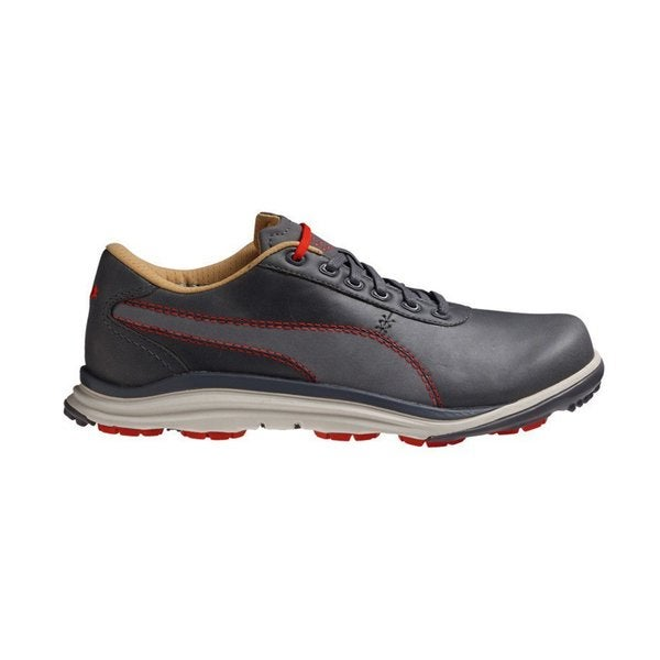 Puma Mens Biodrive Leather Golf Shoe 8 1/2 Us Medium Steel Gray