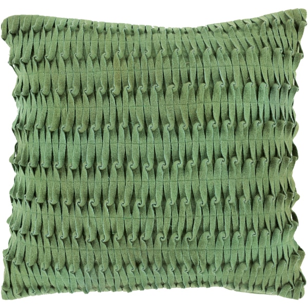 Decorative Lewis 20-inch Poly or Down Filled Pillow