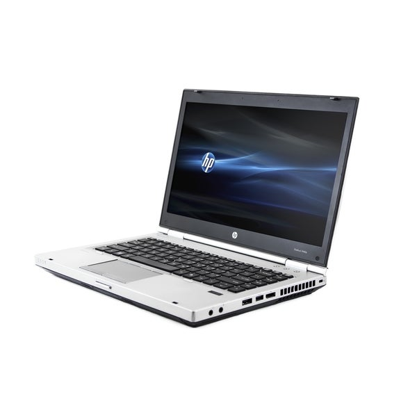HP EliteBook 8460P 14-inch 2.5GHz Intel Core i5 8GB RAM 256GB SSD Windows 10 Laptop (Refurbished)