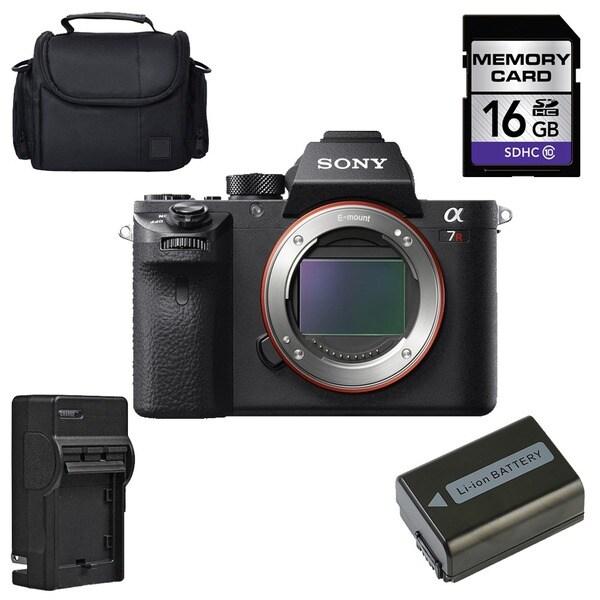 Sony Alpha a7R II Mirrorless Digital Camera (Body Only) Bundle 17598866