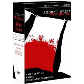 Andrzej Wajda War Trilogy Box Set - Criterion Collection (DVD)