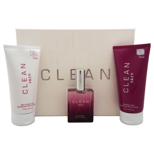 Clean Skin Women's 3-piece Gift Set