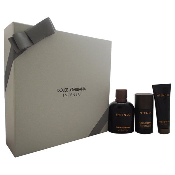 Dolce & Gabbana Intenso Men's 3-piece Gift Set