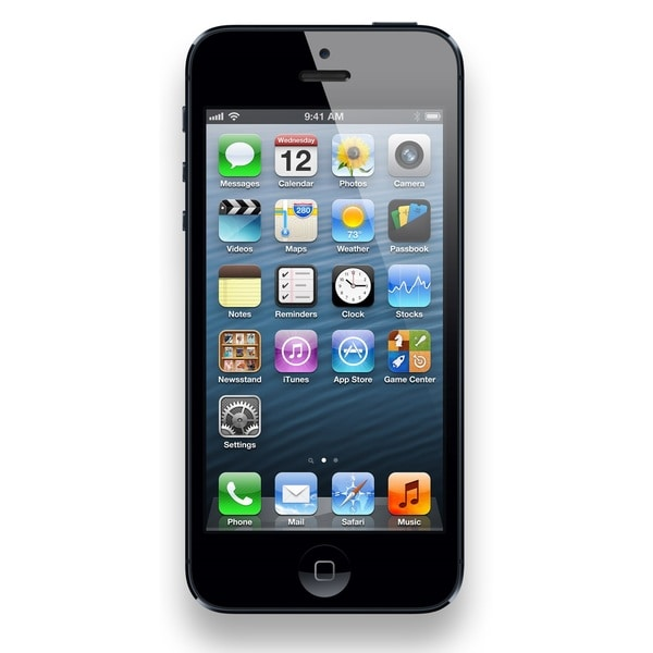Apple iPhone 5 16GB Unlocked GSM Seller Refurbished Cell Phone - Black 17600194
