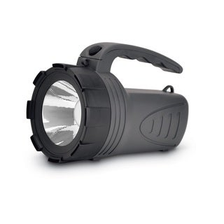 Cyclops 1 Watt LED Rechargeable Spotlight Black