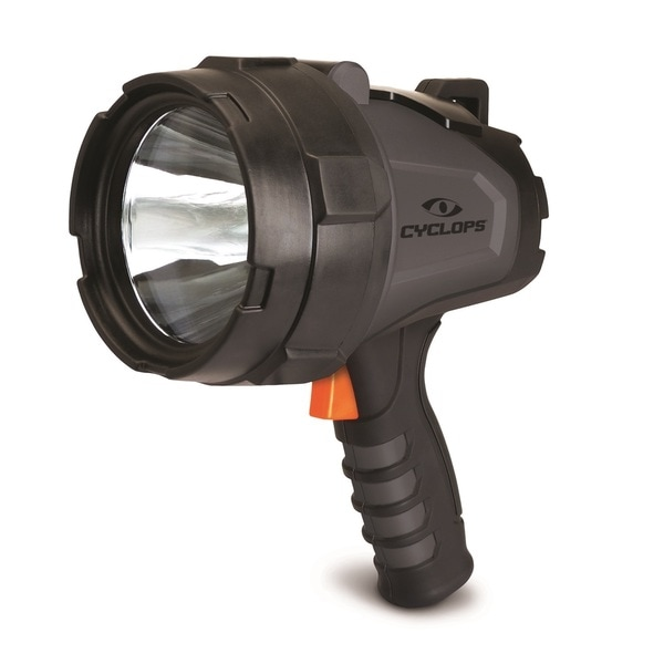 Cyclops 580 Lumen Handheld Rechargeable Spotlight Black