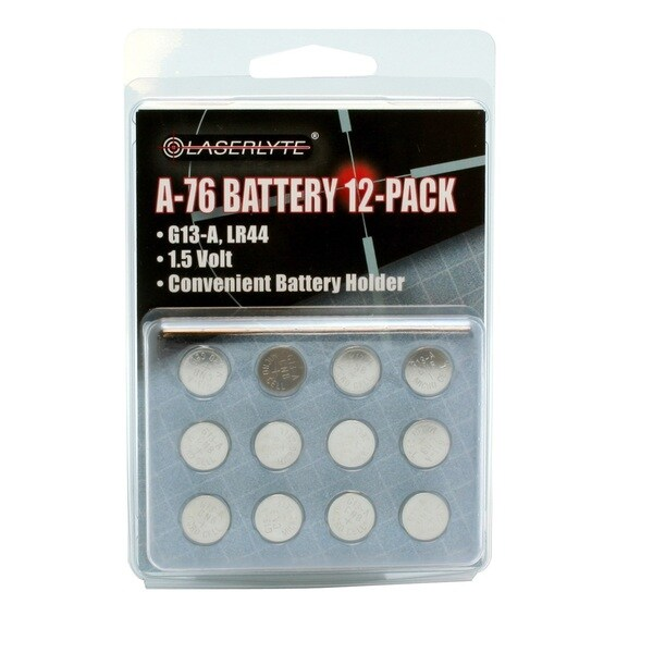 LaserLyte A76 Battery 12 Pack