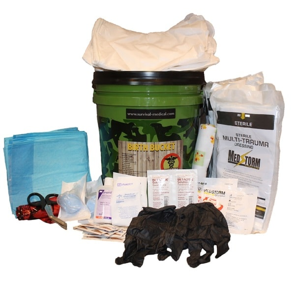 Survival Medical Birth Bucket