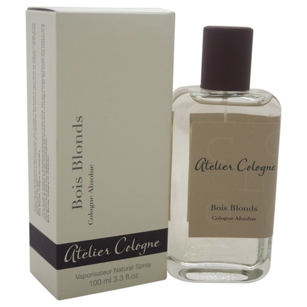 Atelier Cologne Bois Blonds Unisex 3.3-ounce Cologne Absolue Spray